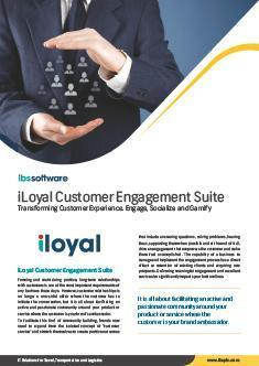 Customer Engagement Suite Flyer