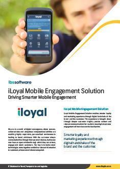 Mobile Engagement Solution Flyer